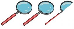 2.5 magnifying glass ++
