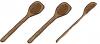 2.5 wooden spoons +